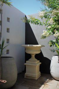 sandstone urn