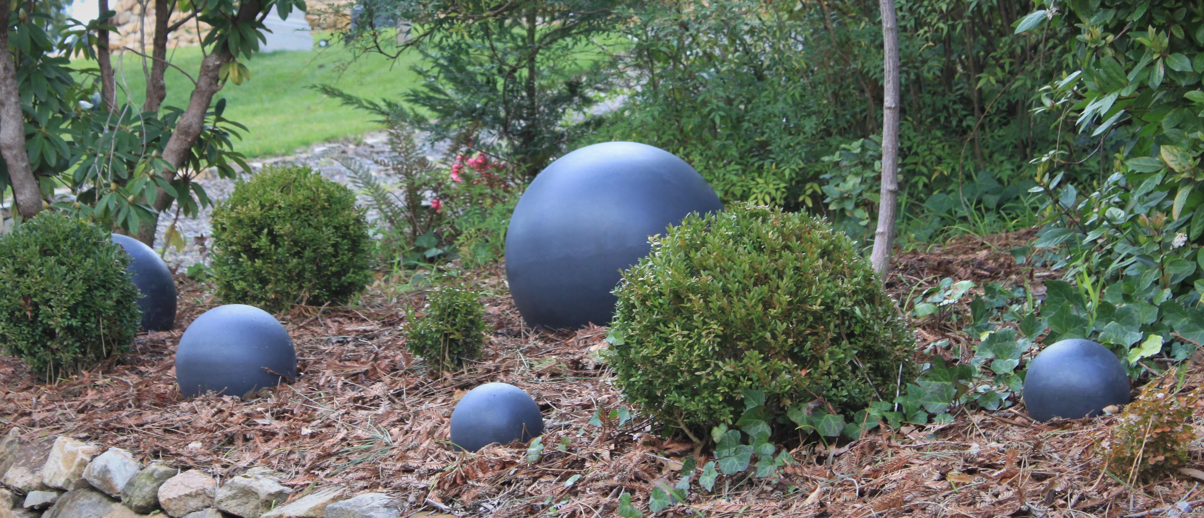 Garden Spheres Garden Balls Stone balls