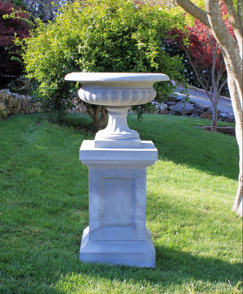 Large Scalloped Urn