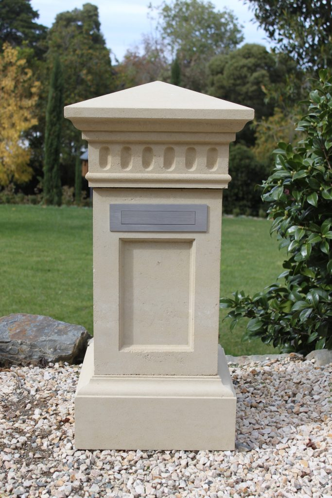 Stone Letterboxes