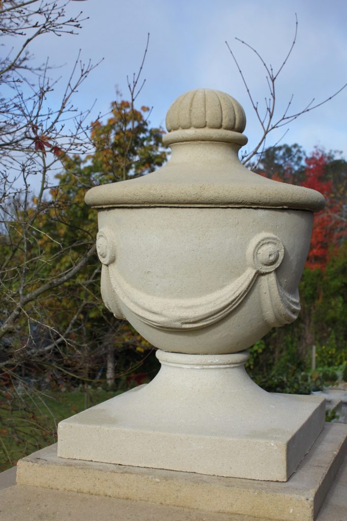 Pillar Caps + Plinths and Spheres